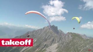 Biwakfliegen *** Paragliding von der Zugspitze zum Königssee (1/2)