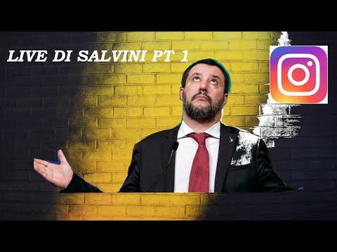 LE SCENE PIU' BELLE DELLE LIVE DI MATTEO SALVINI SU INSTAGRAM