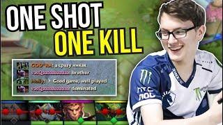 ONE SHOT ONE KILL - Miracle Morphling Rage Quit EZ Game 7.07 | Dota 2