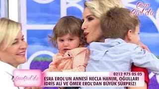 Oğulları İdris Ali ve Ömer'den Esra Erol'a doğum günü sürprizi! - atv