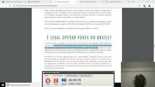 É legal operar forex no Brasil?