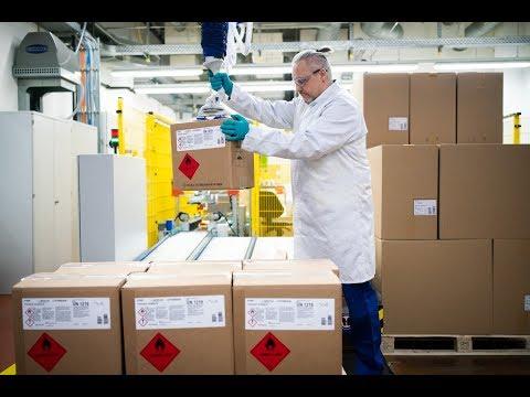 Aktion Helping Hands - BASF Produziert Und Liefert Desinfektionsmittel An Kliniken