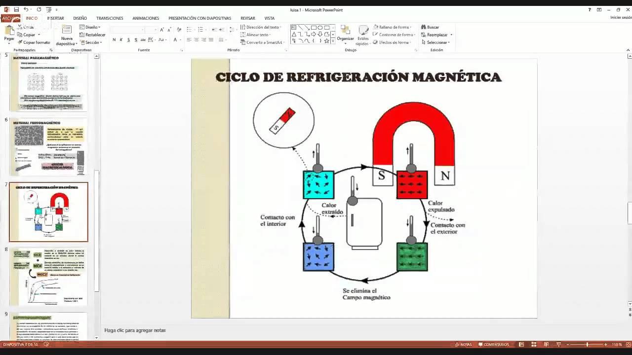 ab7b830ff4d REFRIGERACIÓN MAGNÉTICA parte I - YouTube