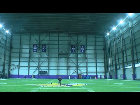 Touring The Vikings' New Headquarters