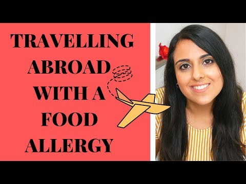 5 TIPS FOR TRAVELLING WITH A FOOD ALLERGY IN 2019!!