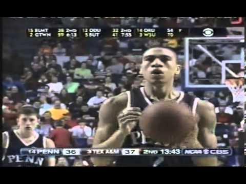Penn vs. Texas A&M (2007 NCAA Tournament)