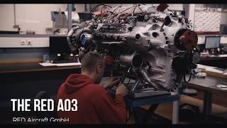 RED Aircraft GmbH Engineers Manufacturing The Certified RED A03 Aviation Piston Engine