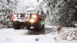 Orange Offroad winter camping trip 2018 in the Canaan Valley WV