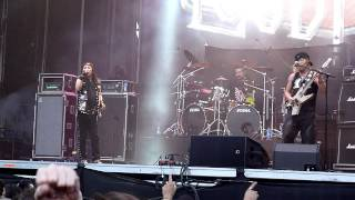"""""""We could be together"""". Japanese metal legends Loudness live @ Rock..."""