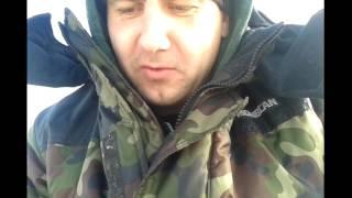 Рыбалка с Ярославом. озере Узмень 05.02.2017
