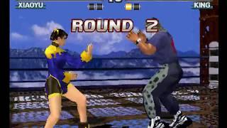 Tekken 3 ( PS1 ) - Xiaoyu - Arcade Mode - Original Music ( Aug 22, 2017 ) thumbnail