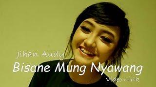 Bisane Mung Nyawang - Jihan Audy ( Lirik)