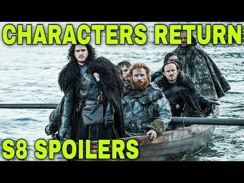 Confirmed Characters Returning For Final Season - Game of Thrones Season 8