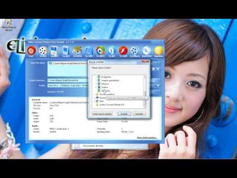 Convertir videos a 3gp o mp4
