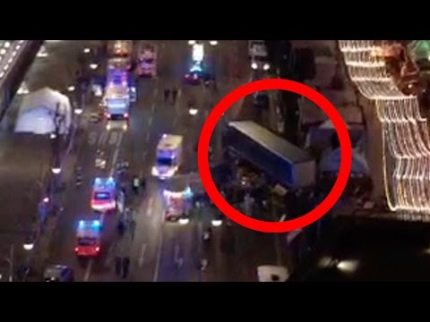 BREAKING: 9 DEAD 50 INJURED AFTER TRUCK MOWS DOWN BERLIN CHRISTMAS SHOPPERS