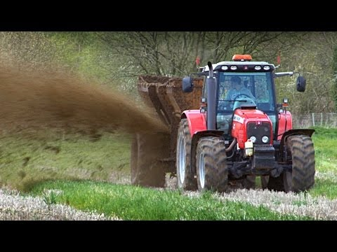 Muck Spreading - from 'Out and About on the Farm - Mighty Machines!'