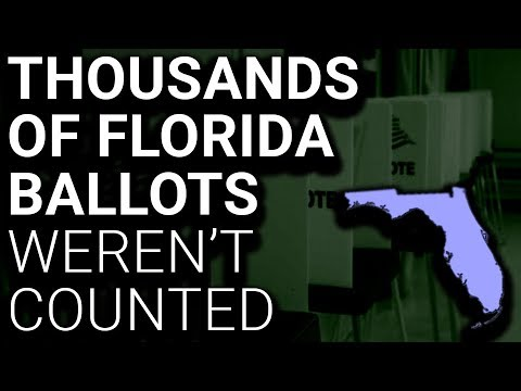 Thousands of Mailed Ballots in Florida Not Counted