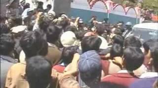 Syed Asad Zaidi Shaheed Ki Mayat Apnay Abai Waddy Kharmang May Part2