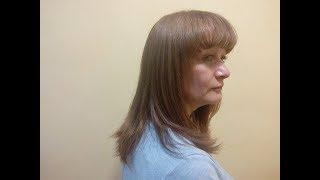 Стрижка на длинные волосы №2