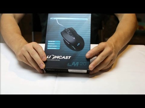 ASMR Unboxing my new PC #8 ✦ Gaming-Mouse Lioncast LM20 (clicking, review)