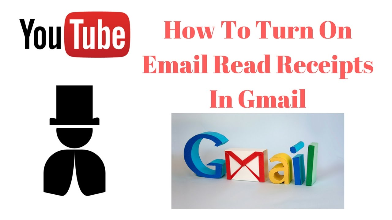 how to get mail read receipt in gmail