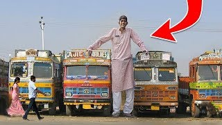 أطول رجل في العالم , لن تصدق كم يبلغ طوله