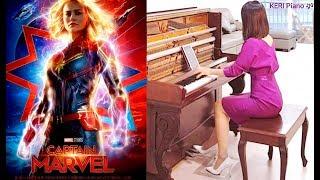 영화 캡틴마블 피아노 Captain Marvel Piano Cover V1 by KERI Piano 케리피아노 예고편 악보