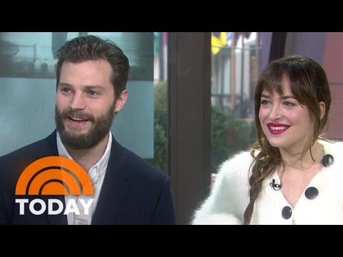 Fifty Shades' Jamie Dornan, Dakota Johnson Talk Being Naked On Set | TODAY