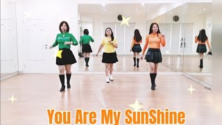 YOU ARE MY SUNSHINE (Marchy Susilani)  - Line Dance