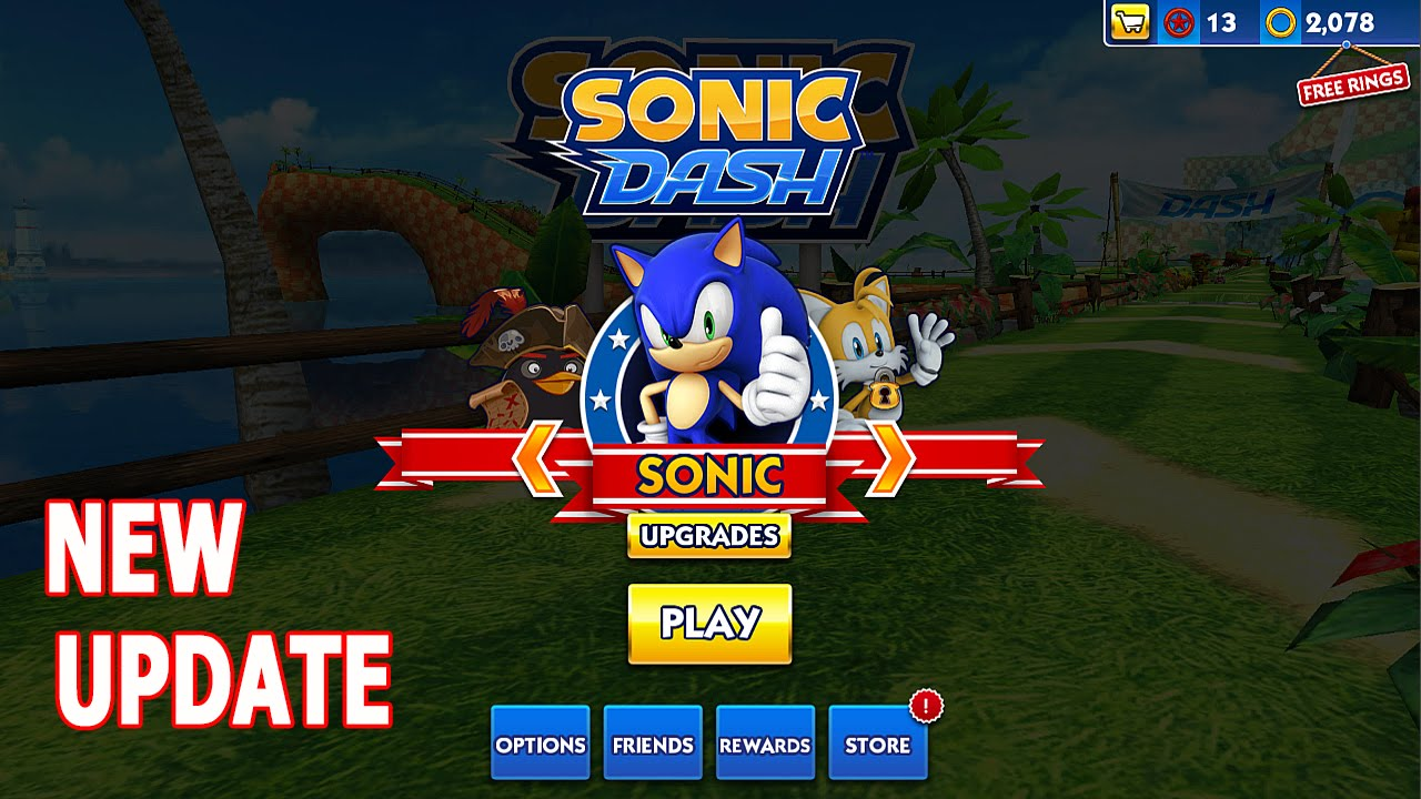 Sonic dash by sega brand new world map youtube gumiabroncs Image collections