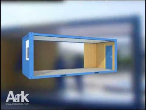 Assembly Flatpack Office Container/Cabin