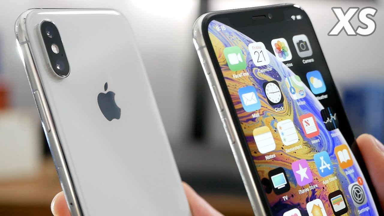 new concept a6d57 95d4b Silver iPhone XS Unboxing & First Impressions!