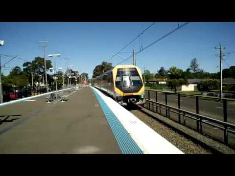 Sydney Trains - M-Set at Quakers Hill - Rare Sight!