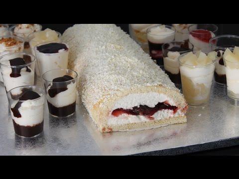 dessert-facile-spÉcial-noel-bÛche-plus-verrines