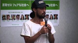 三宅洋平氏が緑の党臨時総会で今後について語った。参院選までの道のり...