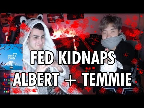 Fedmyster KIDNAPS Albert + Temmie l Lily double ransom?!