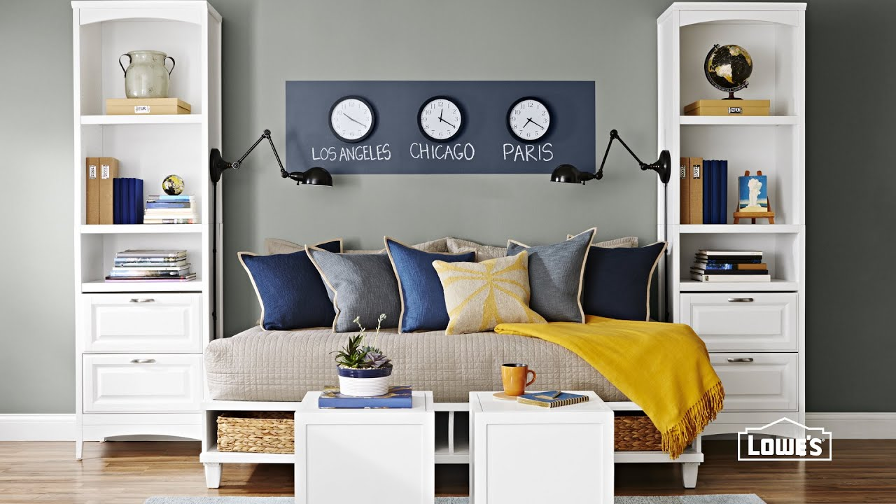 5 Ideas For Decorating A Guest Room. Loweu0027s Home Improvement