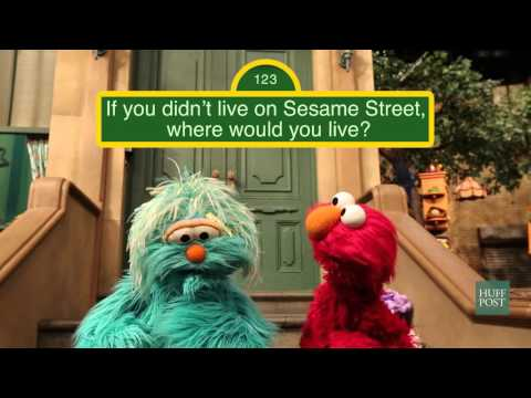 The Huffington Post Goes to Sesame Street
