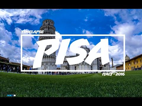GoPro HERO 4 | PISA [Timelapse] | TRAVEL | 2016 [ITALY - Episode #3]