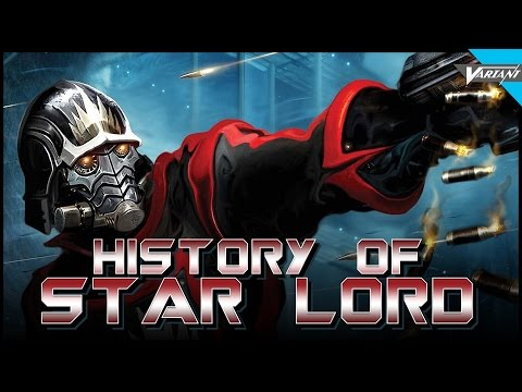 History Of Star-Lord!