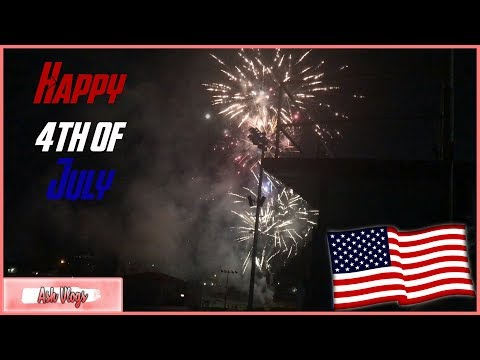 Fourth of July! I Tustin High School Firework Show I Ash Vlogs #1