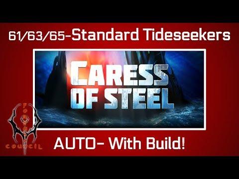 Battle Pirates: Caress of Steel-LvL 61/63/65 [Standard Tideseeker Fleet] Build Included!