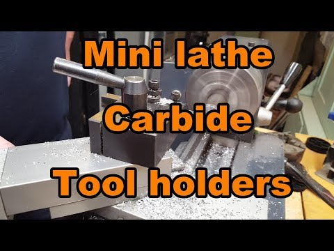 Testing lower priced 7 Pieces , Carbide Tool CCMT, DCMT, Hol
