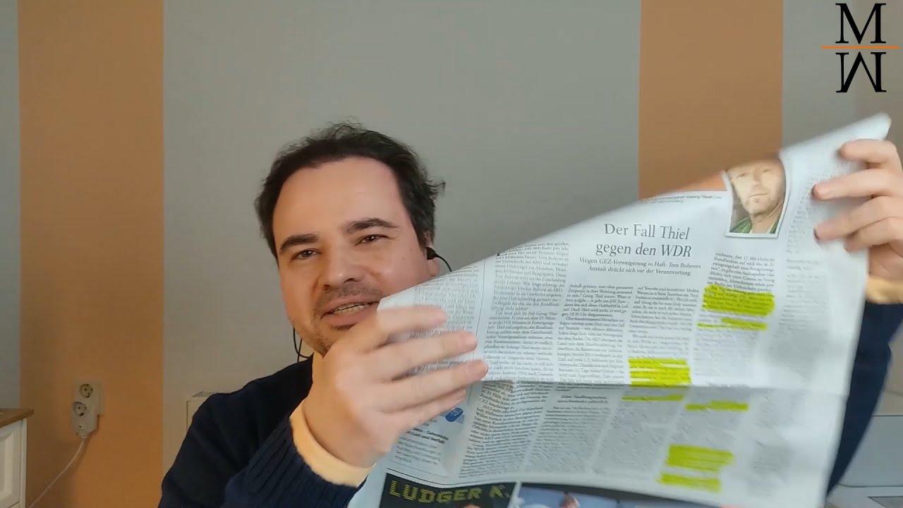 Unser Presseclub: Was der WDR zur Haft von Georg Thiel nicht sagen wollte