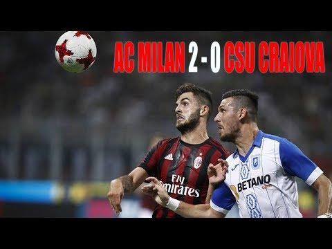 AC Milan vs Craiova 2-0 2nd Leg - UEFA Europa League 2017/2018 - Full Highlights
