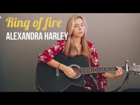 Ring Of Fire-Johnny Cash (Cover) Alexandra Harley