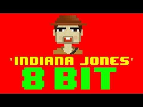 Indiana Jones Theme Song 8 Bit Remix  Version  8 Bit Universe