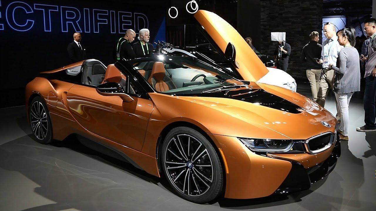 2019 Bmw I8 Roadster 2017 Los Angeles Auto Show Youtube