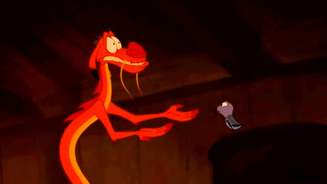 Could It Be Mushu X Mulan Youtube