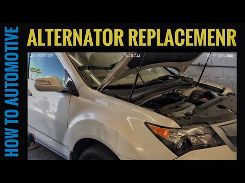 How to Replace the Alternator on a 2007-2013 Acura MDX